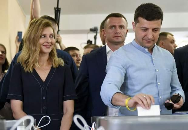 Володимир Зеленський голосує парламентські вибори