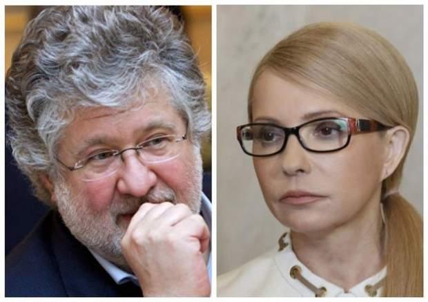 Ігор Коломойський та Юлія Тимошенко