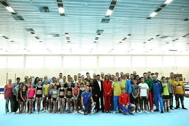 Олена Зеленська на врученні нагород спортсменам