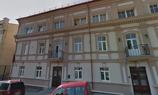 Готель у Вільнюсі, де він імовірно мешкав