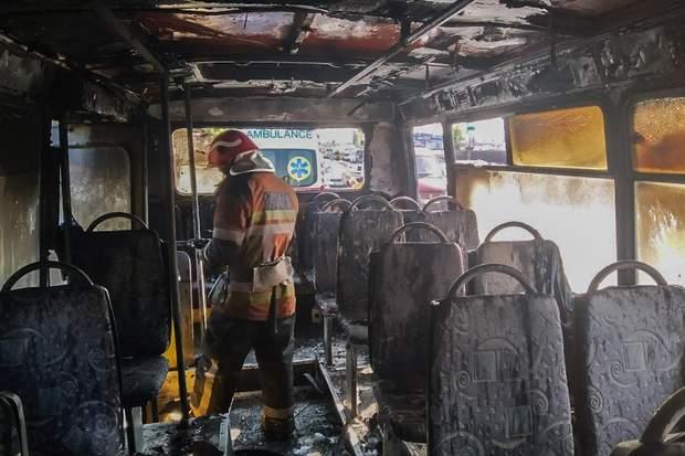маршрутка пожежа київ