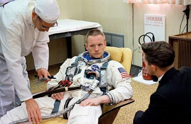 Ніл Армстронг успішно пройшов медогляд для Gemini 8