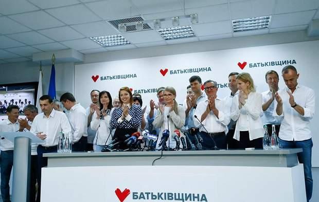 Тимошенко Батькіщина парламентські вибори 2019