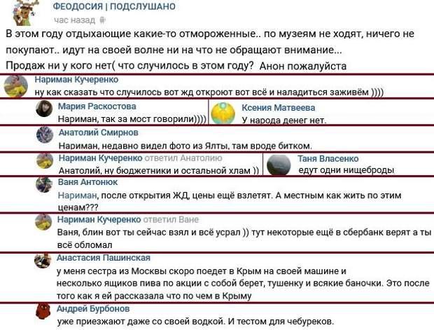 твіттер дописи Крим Росія туристи