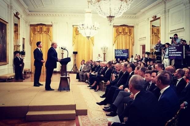 Офіційні зустрічі у Білому домі