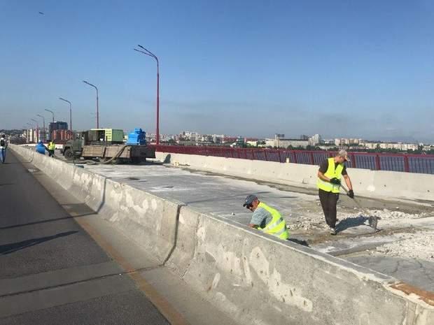 Ремонт Центрального мосту Дніпра вже розпочато