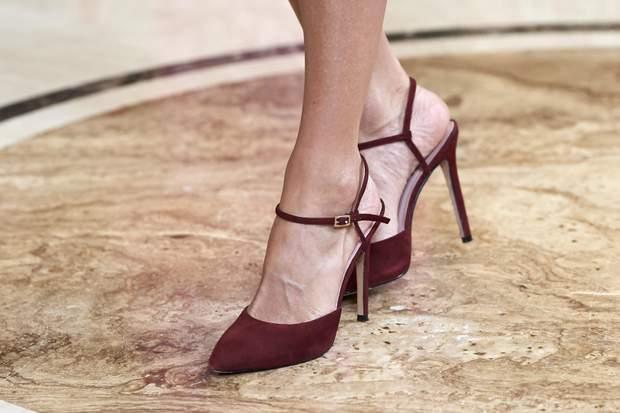 Королева Іспанії Летиція  взуття