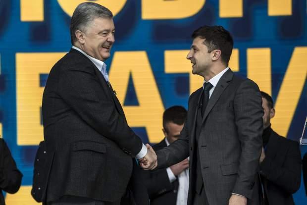 зеелнський порошенко вибори