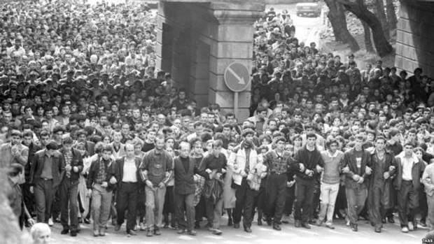 протести грузія 1989
