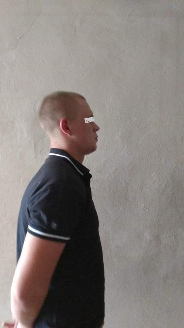 Підозрюваний Дмитро Рибак