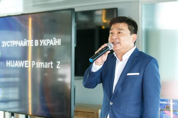 Аллан Чен: Україна має доволі великий ринок у структурі Huawei
