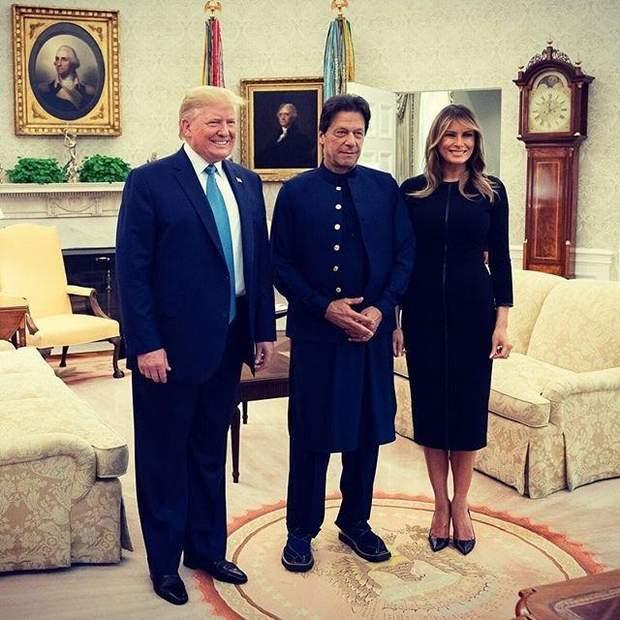 Дональд і Меланія Трамп у Білому домі