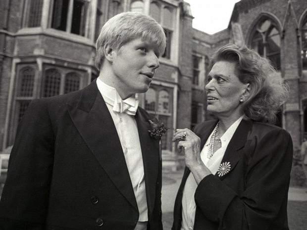 Борис Джонсон у юності фото біографія прем'єра Британії