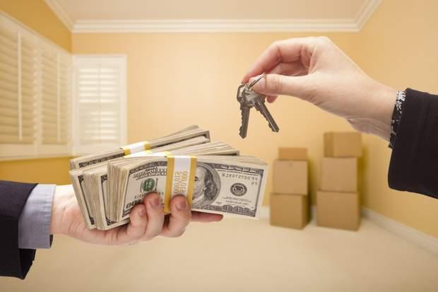нерухомість ключі гроші купівля квартири