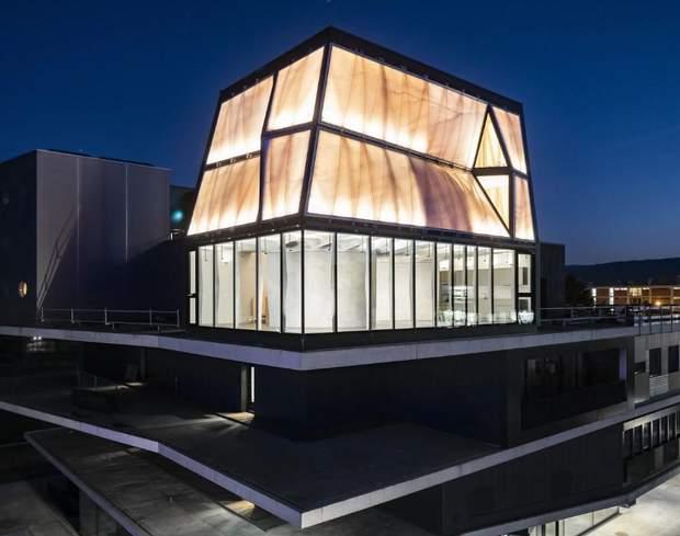 Швейцарія будинок збудували роботи