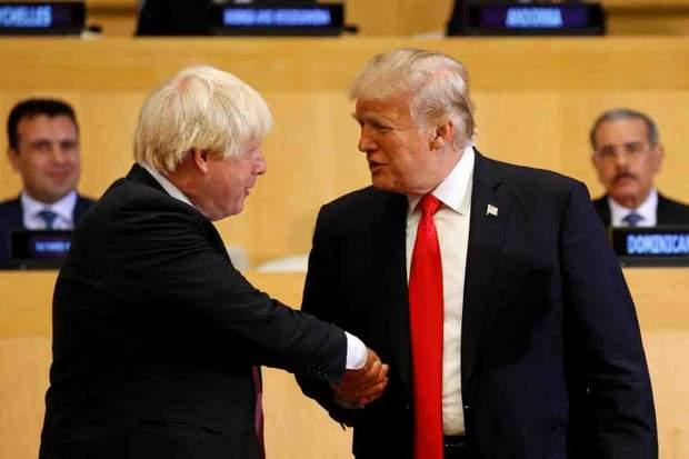 Джонсон і Трамп