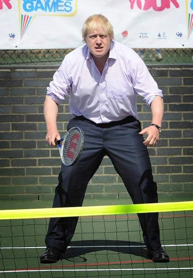 Общество: Борис Джонсон и спорт: забавные казусы нового премьера Великобритании – фото- и видеообзор рис 4