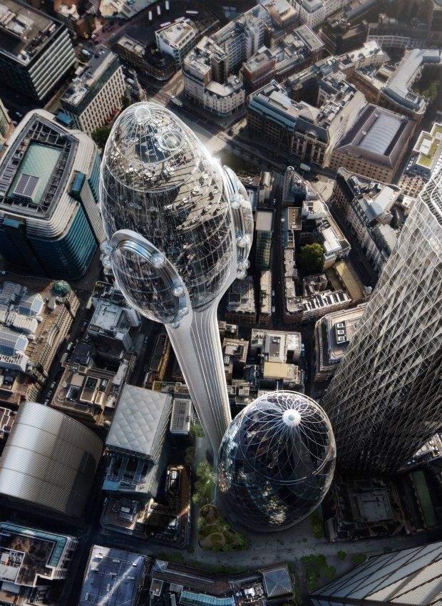 Общество: Хмарочос Тюльпан Лондон будівництво