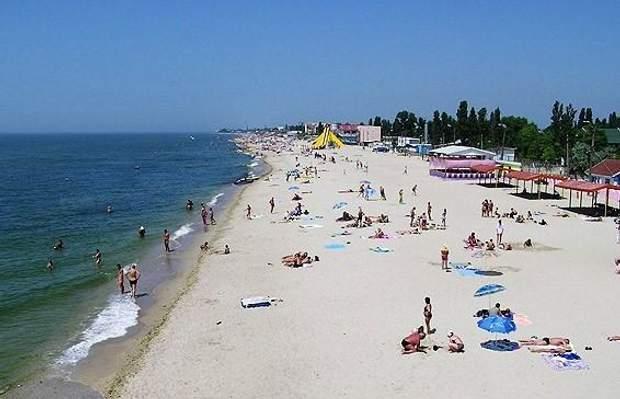 Сонячний пляж, Затока, відпочинок