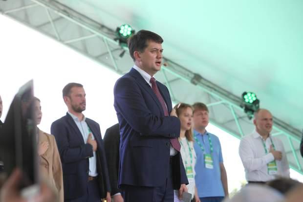 Дмитро Разумков, претенденти на посаду спікера