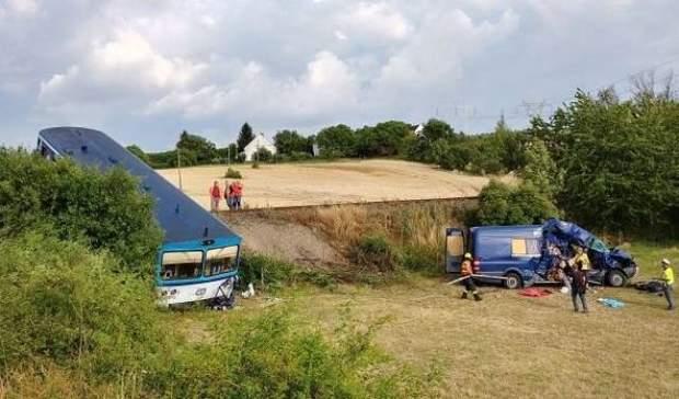 аварія ДТП Чехія українці