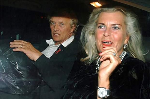 Рутгер Гауер з дружиною