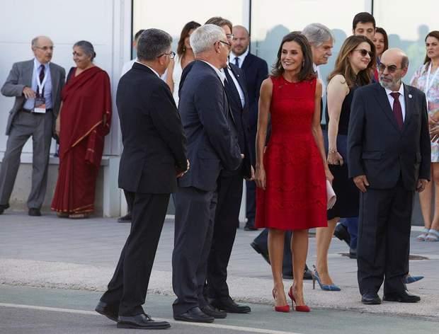 Королева Летиція у Валенсії