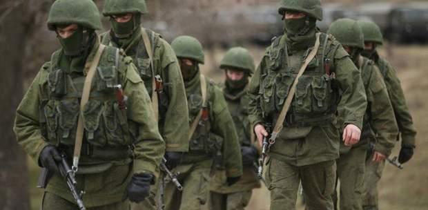 зелені чоловічки, російські військові, анексія Криму