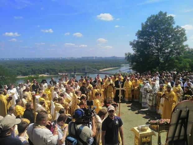 Святкування на березі Дніпра/ фото Анастасії Кримової, 24 канал