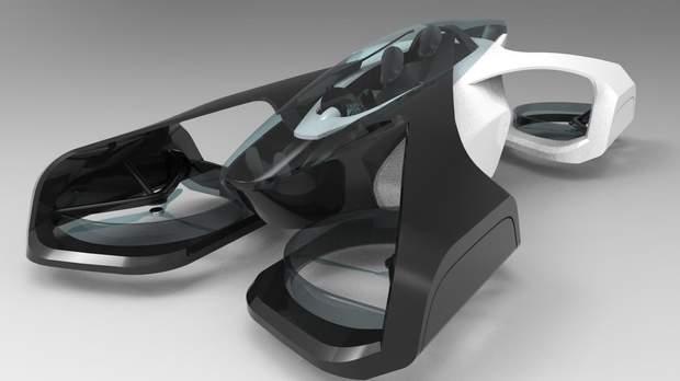 Літаючий автомобіль SkyDrive, який Toyota розробляє спільно зі стартапом Cartivator