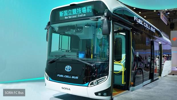 Toyota SORA FC – серійний автобус на водневих паливних елементах