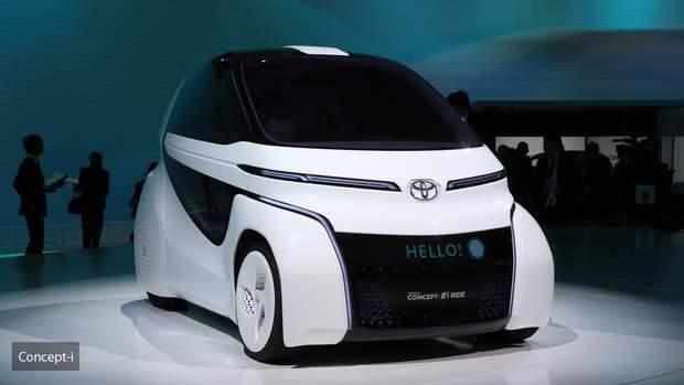 Toyota Concept-i Ride – двомісний хетчбек з дверима типу