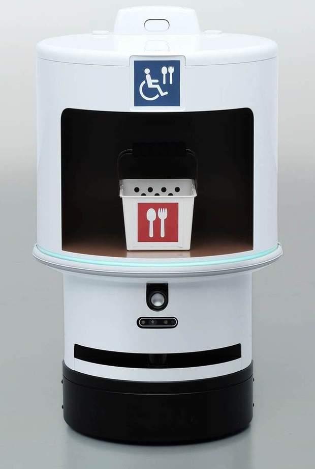 Роботи серії DSR (Delivery Support Robot) візьмуть на себе турботи про зручність відвідувачів ігор в інвалідних візках