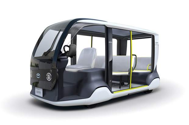 Toyota APM – компактний електричний мікроавтобус