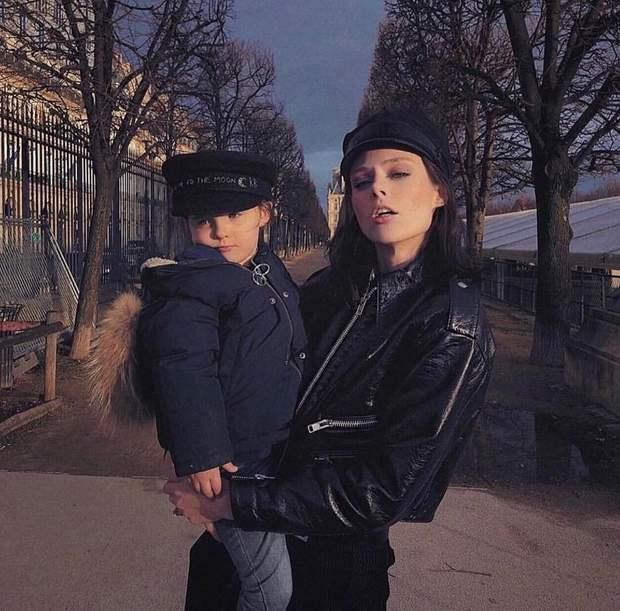 Коко Роша з донькою