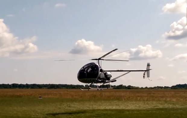 Гвинтокрил не потребує великої ділянки для зльоту чи приземлення