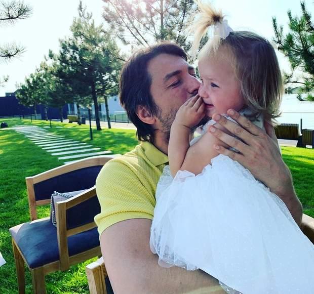 Сергій Притула з дочкою