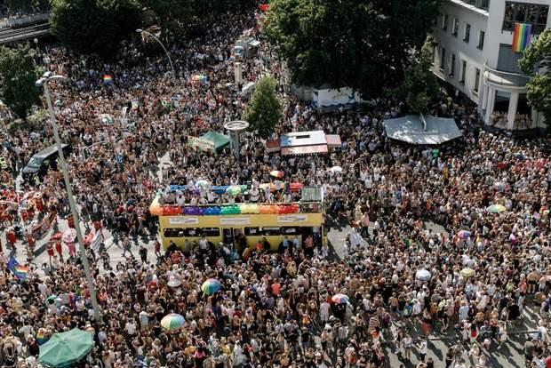 ДГБТ-прайд Берлін 2019