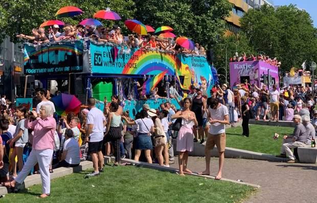 ЛГБТ прайд парад Берлін Німеччина