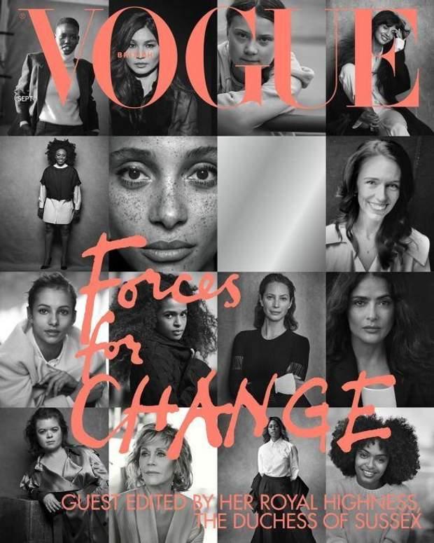 Обкладинка Vogue, яку створила Меган Маркл