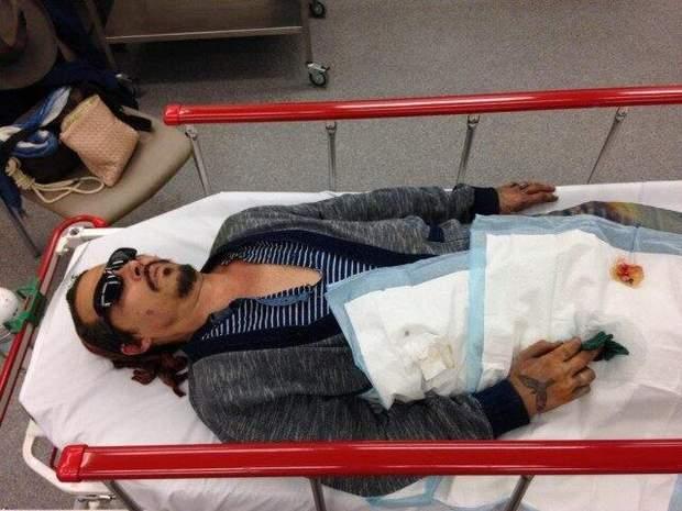 Джонні Депп заявив, що був жертвою нападу Ембер Хьорд