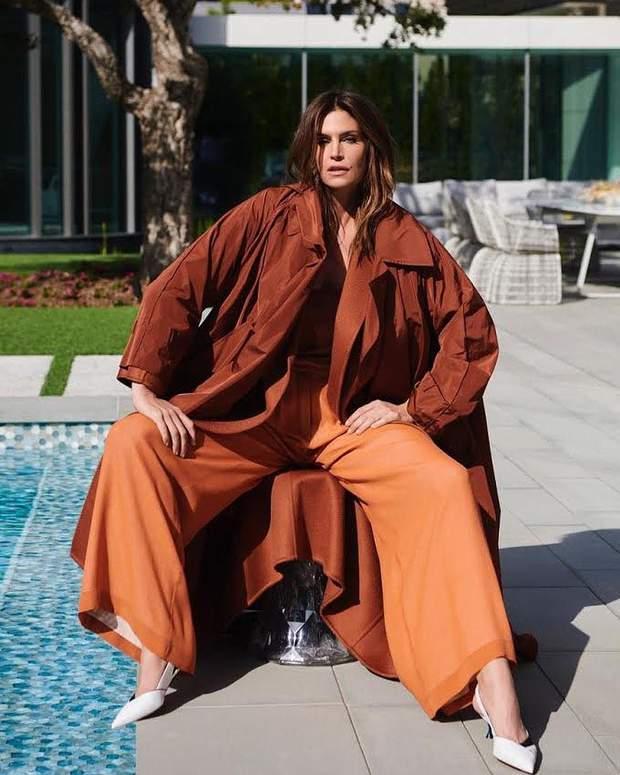 Сінді Кроуфорд для турецького Harper's Bazaar