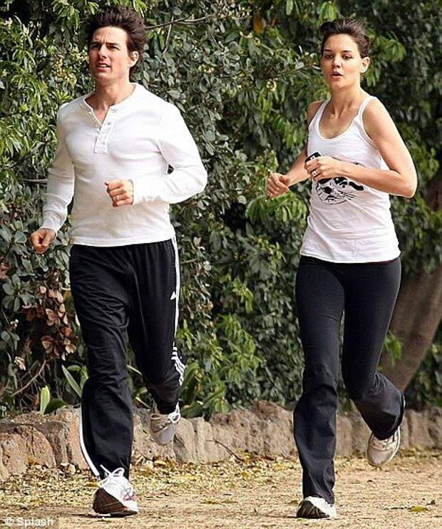 Том Круз з дружиною Кеті Холмс