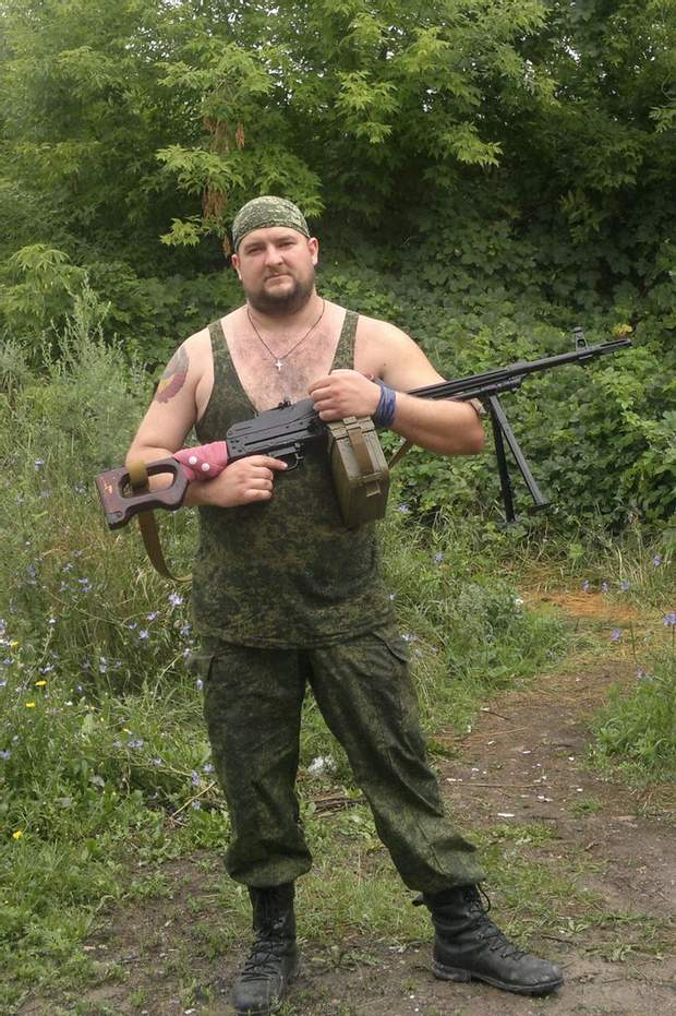Чистов Донбас бойовики проросійські окупанти
