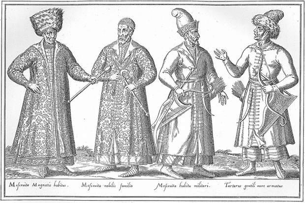 Шляхта і вояки литовського князівства