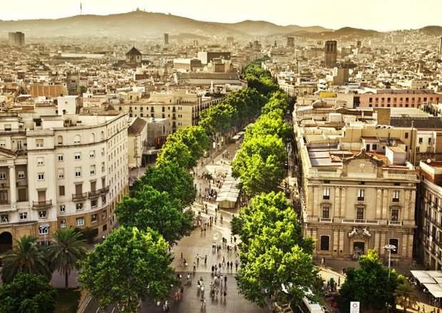 Ла Рамбла у Барселоні
