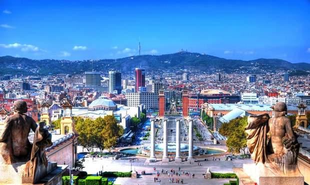 Монжуїк у Барселоні