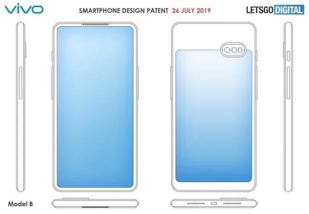 Vivo запатентував новий дизайн смартфона з двома екранами