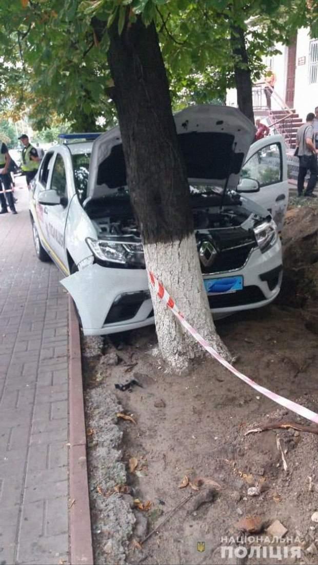 ДТП з поліцією у Києві