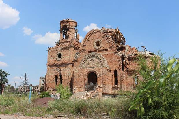 храм після обстрілів
